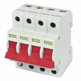 Isolator Main Switch Three Phase 4 Pole 4 Mod 125a